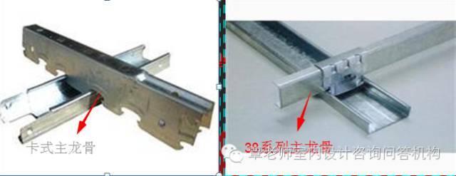 [资料]室内施工工艺--轻钢龙骨吊顶与配件