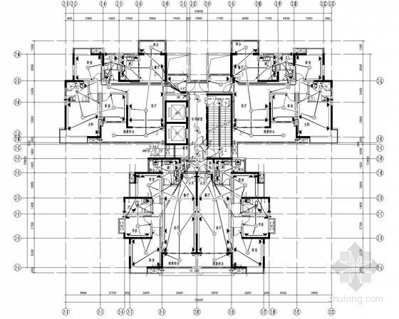 [湖南]高层住宅电气全套图(甲级院设计)