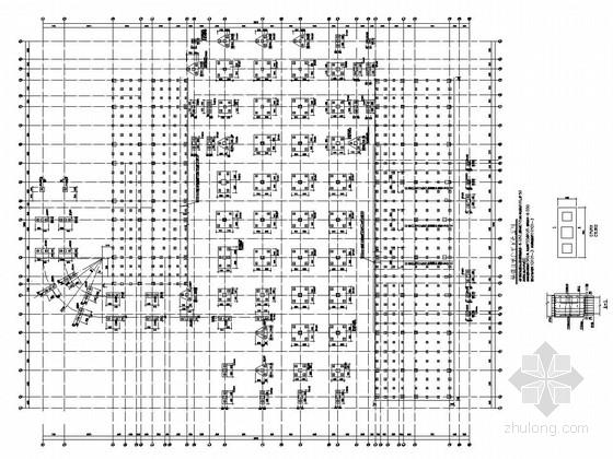 [江苏]地上八层框架结构办公楼群结构施工图