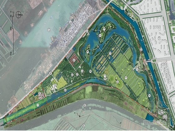 [济宁]北方丰富多元化的生态湿地公园景观规划设计方案