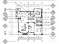 [长春]森林景区中式四居室样板间装修图