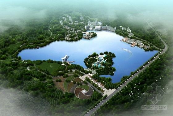 [福建]新中式风格旅游综合体建筑设计方案文本(含CAD)