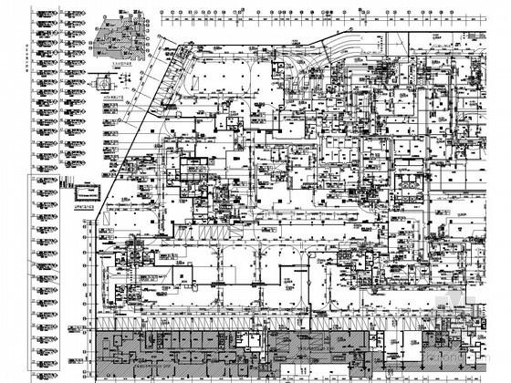 [上海]超高层商业大厦空调通风及防排烟系统设计施工图(制冷机房)