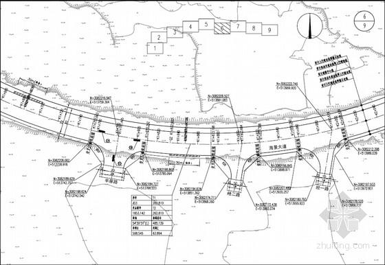 [PDF]30m宽城市主干道工程全套施工图(77页 道路 交通工程)