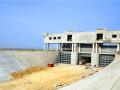 小型混凝土預制構件U型渡槽施工過程