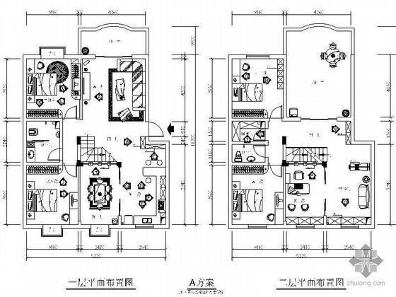 复式楼住宅设计方案(含效果及预算)