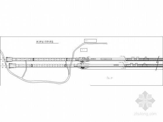 150米钢筋混凝土箱形拱桥施工方案附CAD(34m高墩)