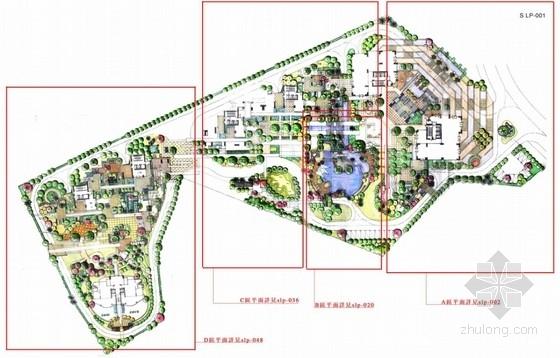 [深圳]东南亚风情花园小区景观扩初设计方案