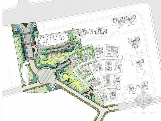 [东莞]居住区铺装工程景观扩初设计方案