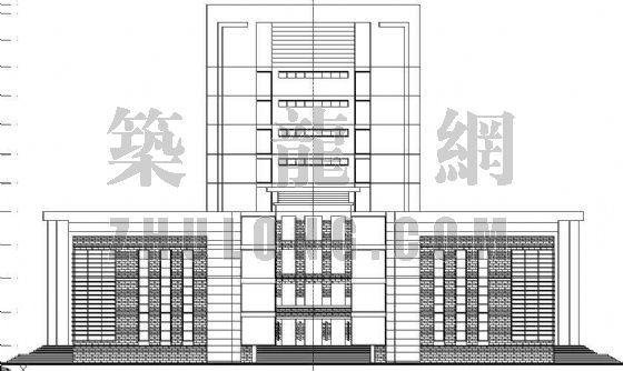 某图书馆建筑设计方案