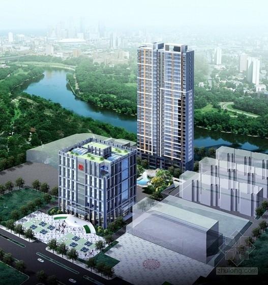 [山东]32层住宅楼建筑设计方案文本