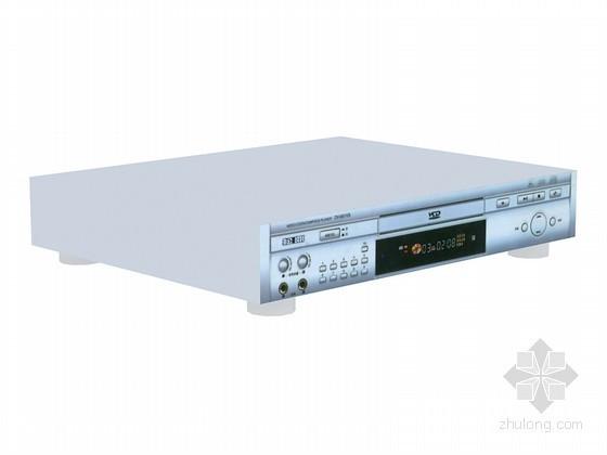 VCD播放器3D模型资料下载-现代VCD播放器3D模型下载