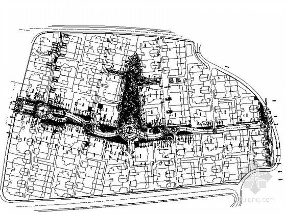 [沈阳]巧致别墅景观规划设计施工图