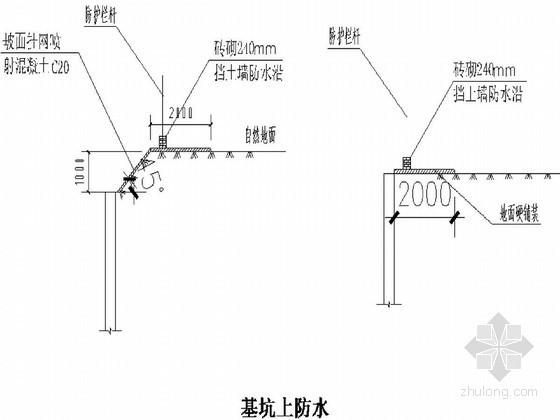 [黑龙江]地下室深基坑钢板桩与加筋地锚支护施工方案
