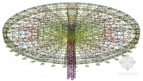 整体计算模型图