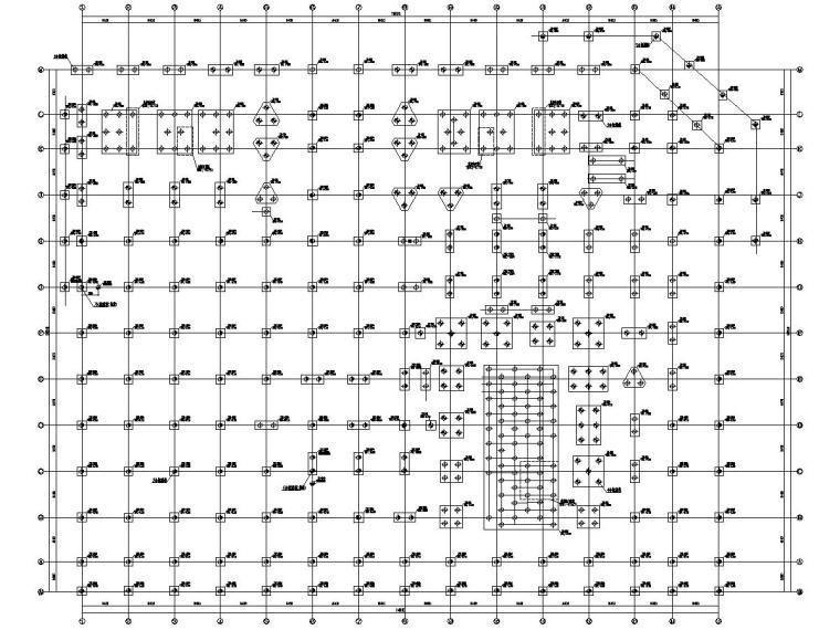 [浙江]多栋多层框架剪力墙结构办公楼结构施工图