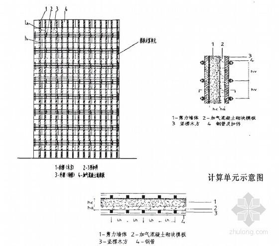 钢筋混凝土剪力墙复合加气混凝土砌块自保温体系施工技术研究38页(硕士)