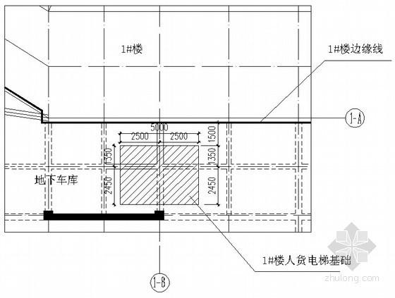 [上海]高层商业办公楼人货电梯基础及装拆施工技术方案