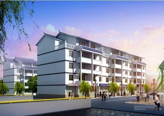 [江苏]住宅楼建筑安装工程结算书(含工程量计算 施工图纸)