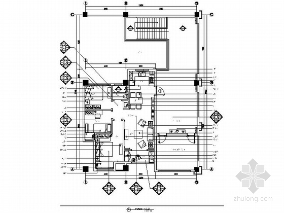 [苏州]简约小户型样板间室内装修图(含效果)