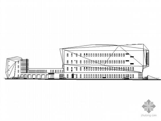 [鄂尔多斯]某博物馆建筑施工图
