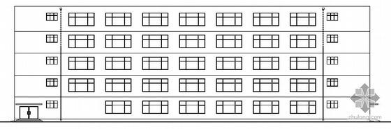 [沈阳]某五层中学教学楼建筑施工图