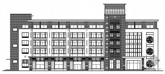[莱阳市]某五层宾馆建筑施工图