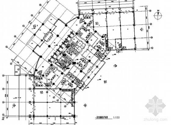 鄂尔多斯市某小区B2#楼暖通施工图