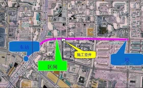 [北京]地铁区间竖井及横通道暗挖支护施工组织设计