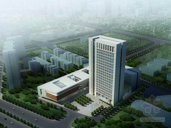 [河南]20层高层办公楼建筑设计方案文本(含CAD,精品资料,附图丰富)