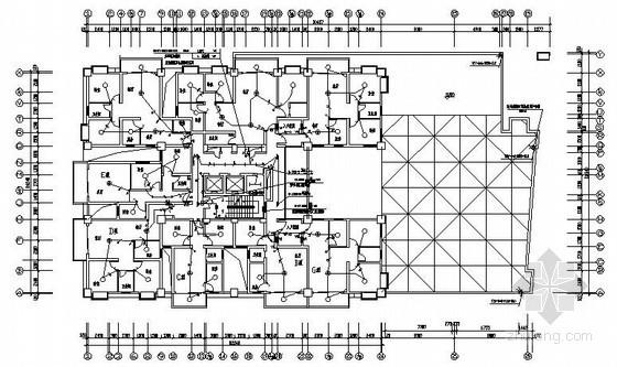 [四川]十五层电梯公寓电气施工图纸