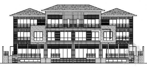 丹堤C区29号楼建筑施工图