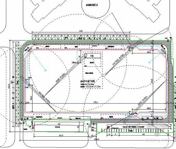 [北京]商业广场施工现场平面布置图(基础、主体、装修)