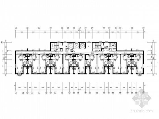 [山东]高层保障性住房采暖通风设计施工图(含负荷计算书)