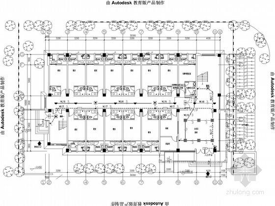 [重庆]高校多层宿舍楼全套电气施工图纸