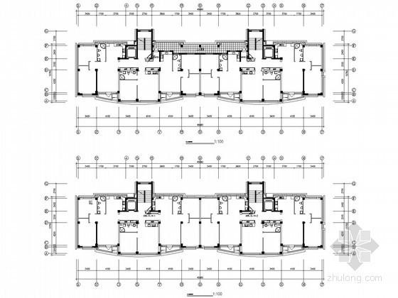 [福建]一类高层住宅楼电气施工图纸