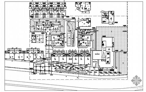 杭州工业园样板房区景观设计施工图
