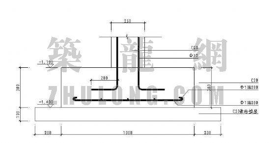 柱廊施工图-3