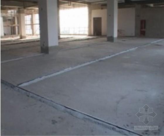 建筑工程大面积橡胶地板施工工法