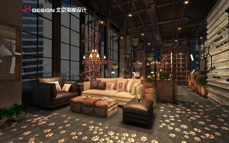 归本主义设计作品—上海漫猫咖啡馆设计案例_8