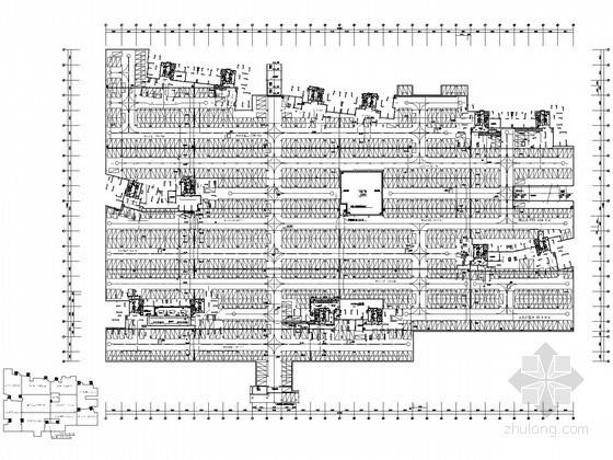 大型地下室电气施工图