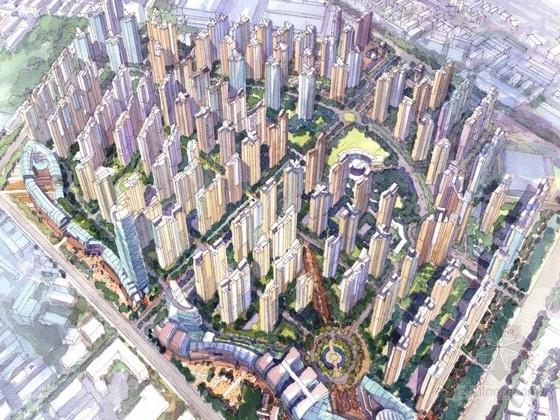 [四川]现代风格住宅区规划方案文本(知名地产设计)