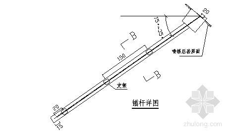 [广东]道路边坡治理工程锚杆框架梁施工方案