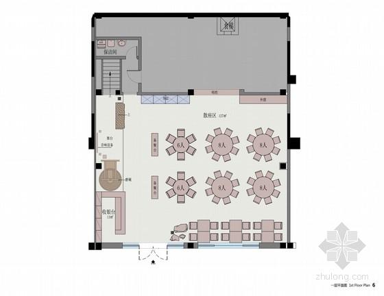 [原创]美味私厨盛宴餐厅室内设计概念方案