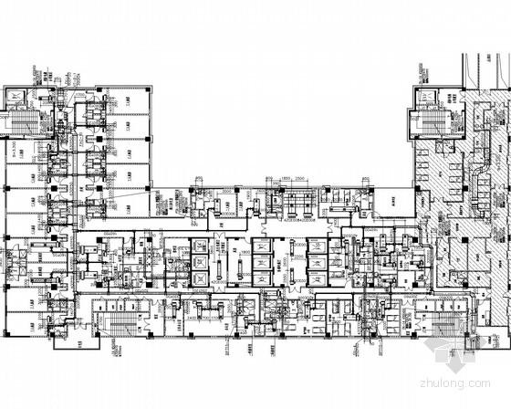 手册系统楼通风空调系统设计施工图(含消防螺纹设计)机械加工病房医院六合无绝对片