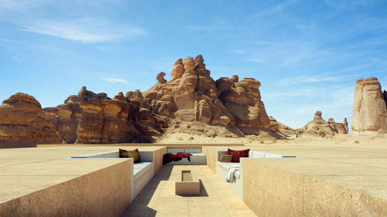沙特阿拉伯海市蜃楼沙漠酒店-1 (1)