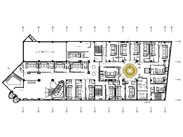 [福州]高档奢华休闲夜总会设计施工图(含效果图)