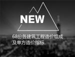 68份各建筑工程造价组成及单方造价指标