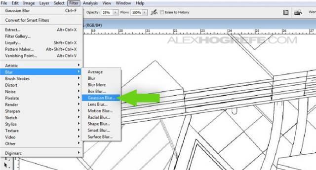 干货 SketchUp+photoshop快速渲染制作建筑景观效果图教程_5