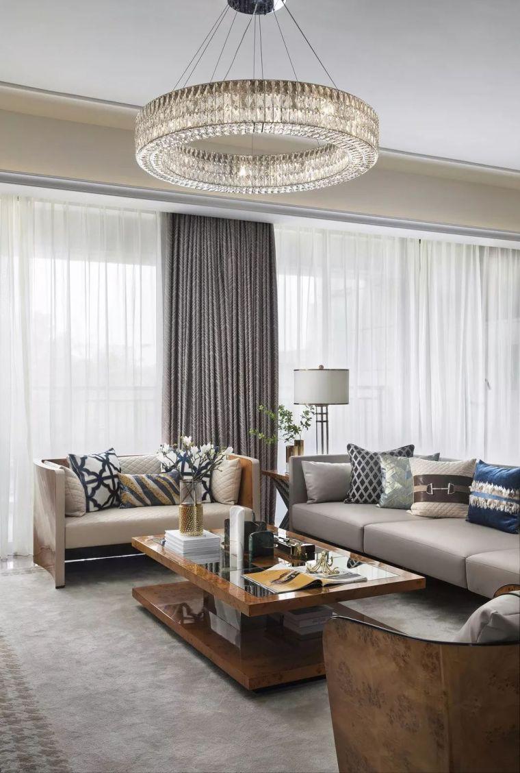 240㎡珍稀优雅豪宅软装设计,创造引领新都市的优质生活空间!_4